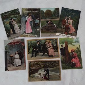 Antique Victorian Postcards